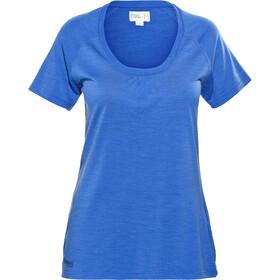 Bergans Sveve T-shirt manches courtes Femme, athens blue melange